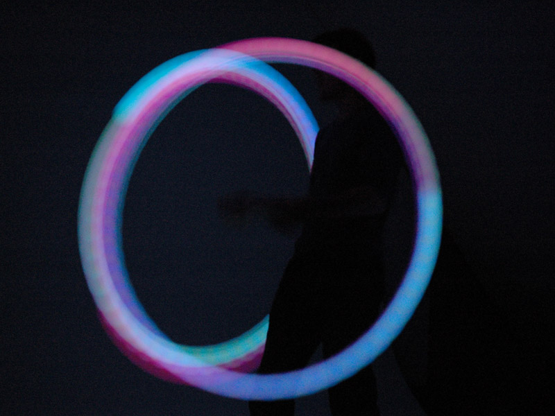 how to clean glow poi
